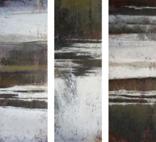 Winter Trio (triptych)